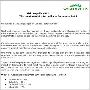 What Does It Take To Get A Job In Canada In  It Takes Skills