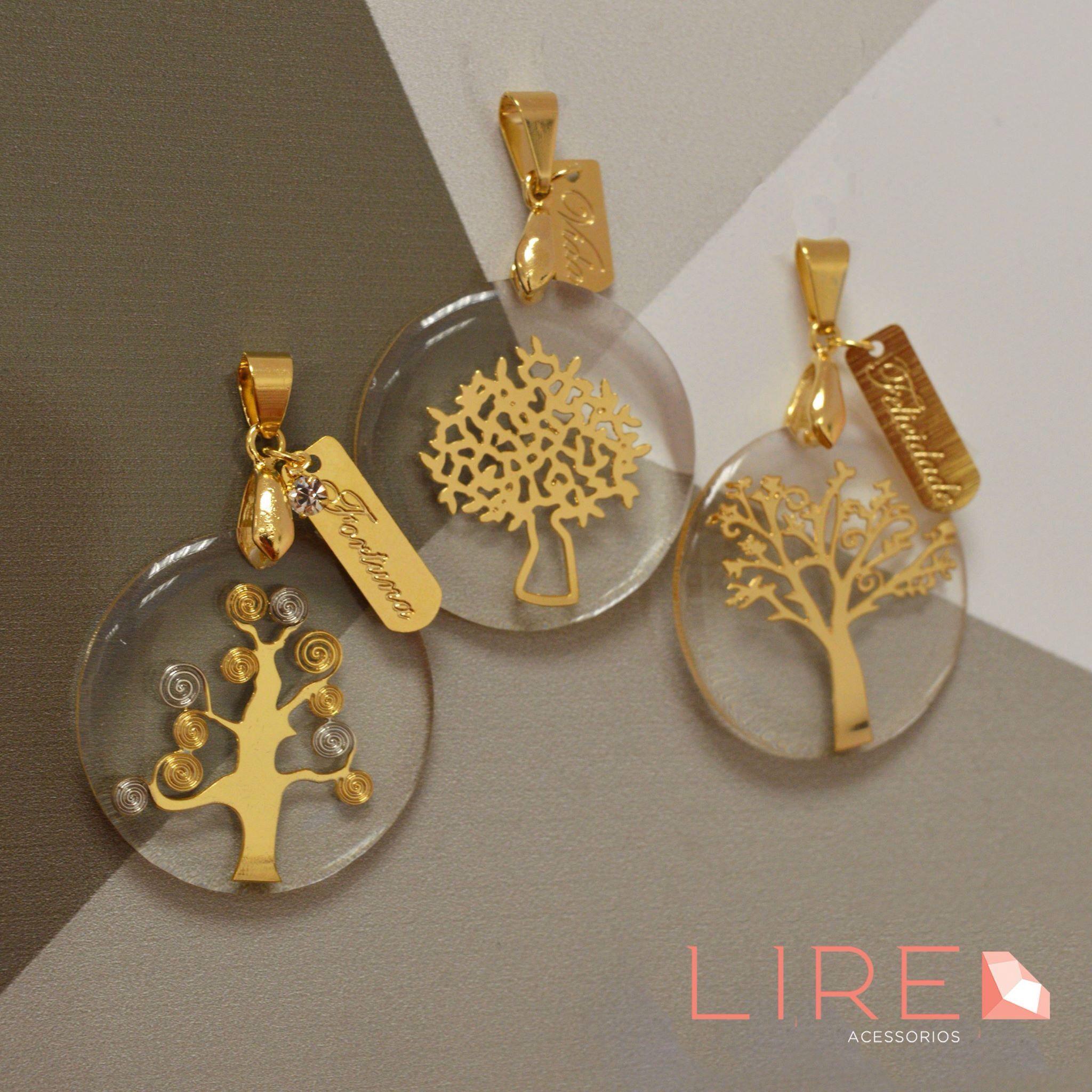 Pingentes Árvore da Fortuna, Árvore da Vida e Árvore da Felicidade para  estar sempre com cdf509a37d