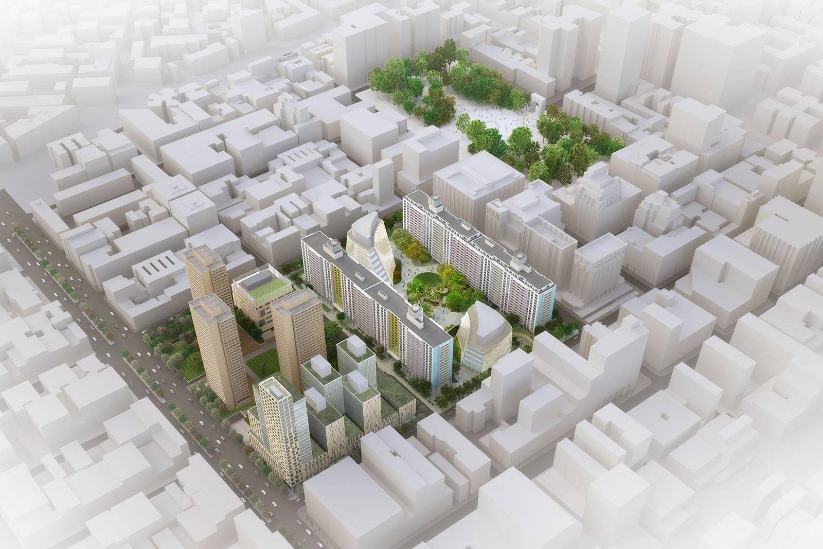 New York University Master Plan Projects Grimshaw Architects - New york university architecture