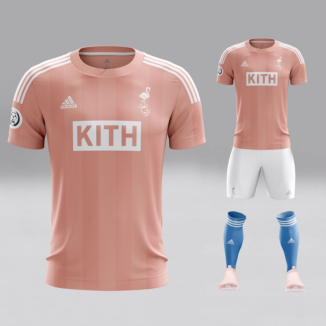 c5b3c3863f7a Kith (@kith) • Photos et vidéos Instagram | Save | Pink football ...