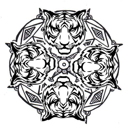 animal mandalas coloring pages for kids