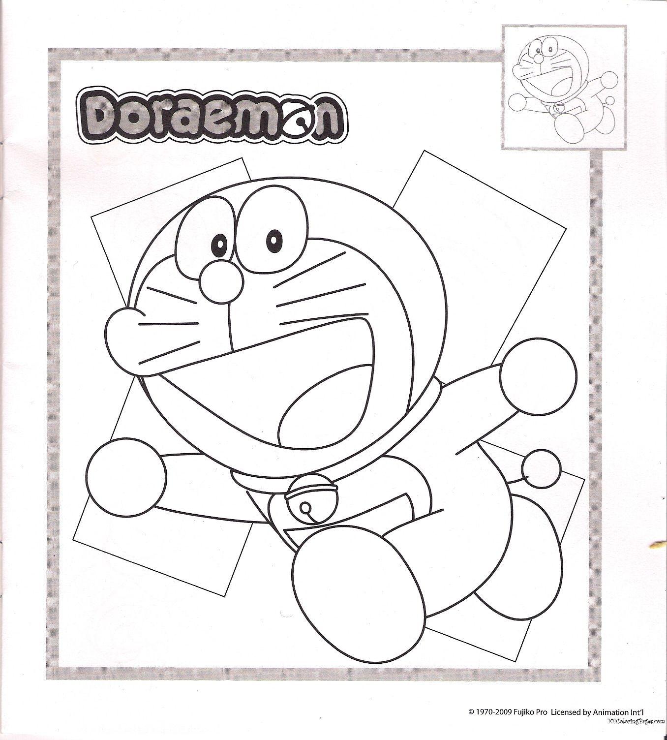 doraemon coloring pages | 2016 new stuff | Pinterest | Media storage
