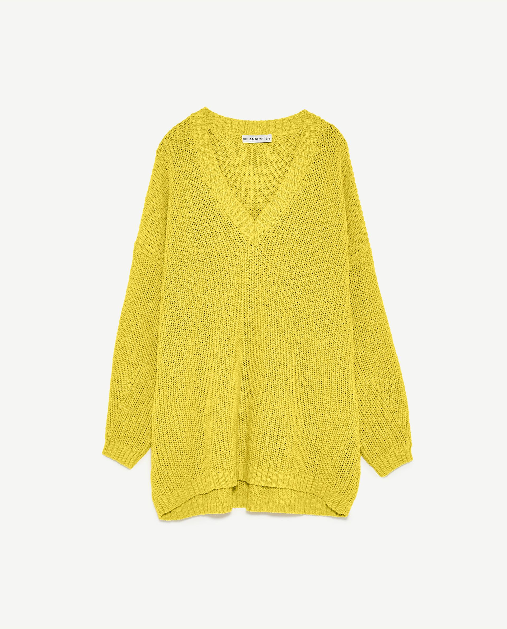 Image 8 of OVERSIZED SWEATER from Zara | My Style | Pinterest ...