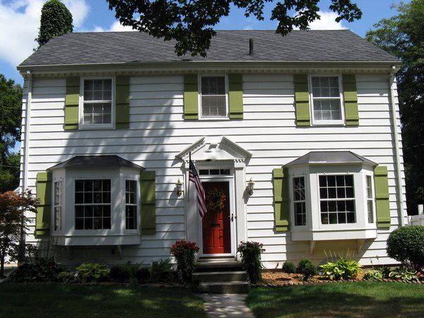 saltbox homes with shutters exterior paint colors Google Search