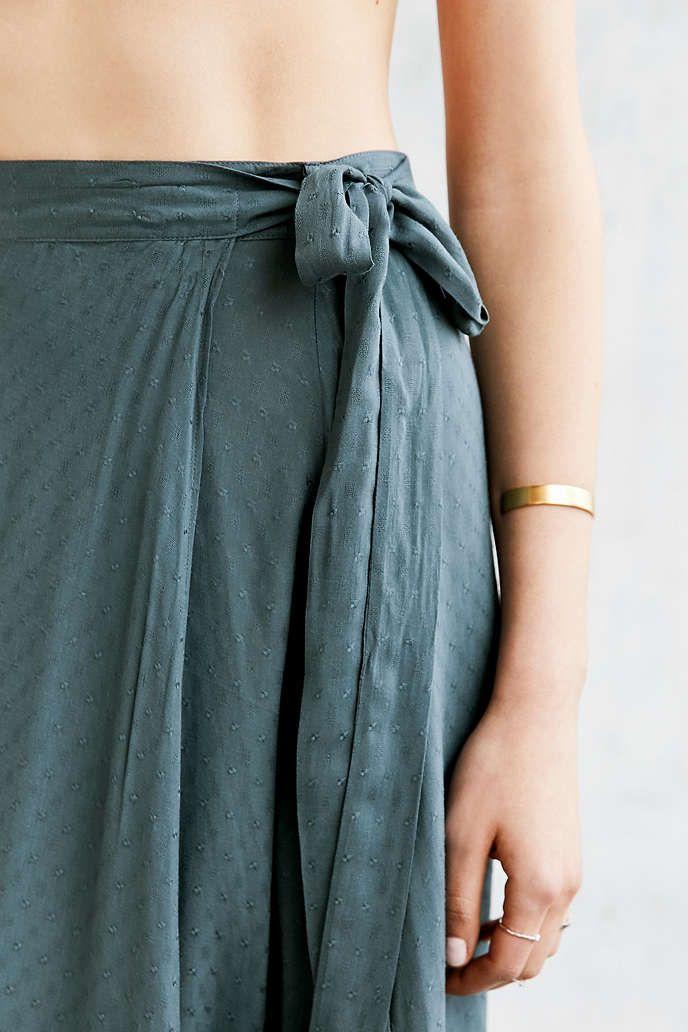 21b6b4dc2183 Ecote Zella Boho Wrap Maxi Skirt   { Abby+style+fashion+clothing ...