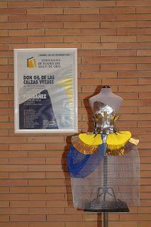 Cartel de 1993 del teatro en Almería, base de inspiración para crear la menina