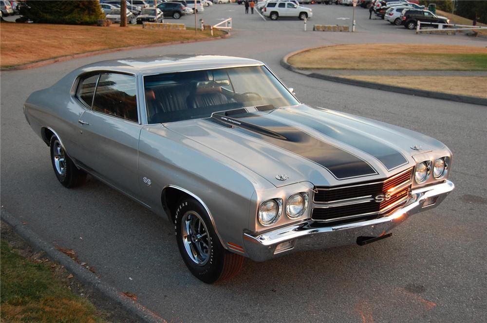 1970 Chevrolet Chevelle SS LS6  BarrettJackson auction sold