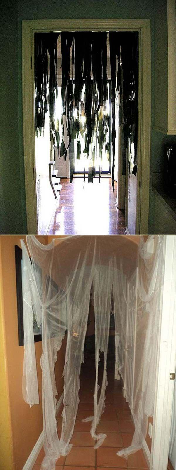 Ideias super fáceis de decoração de Halloween #halloweendecorationsoutdoor