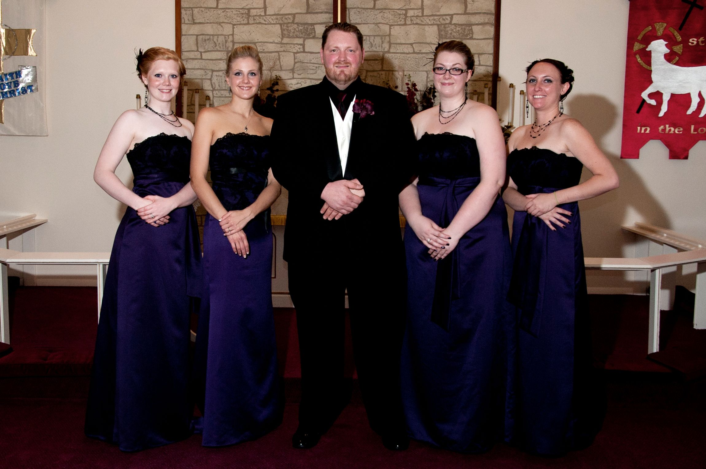 my hubby and girls