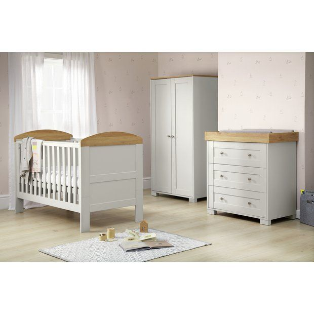 Buy Mamas & Papas Harrow 3 Piece Furniture Set - Grey ...