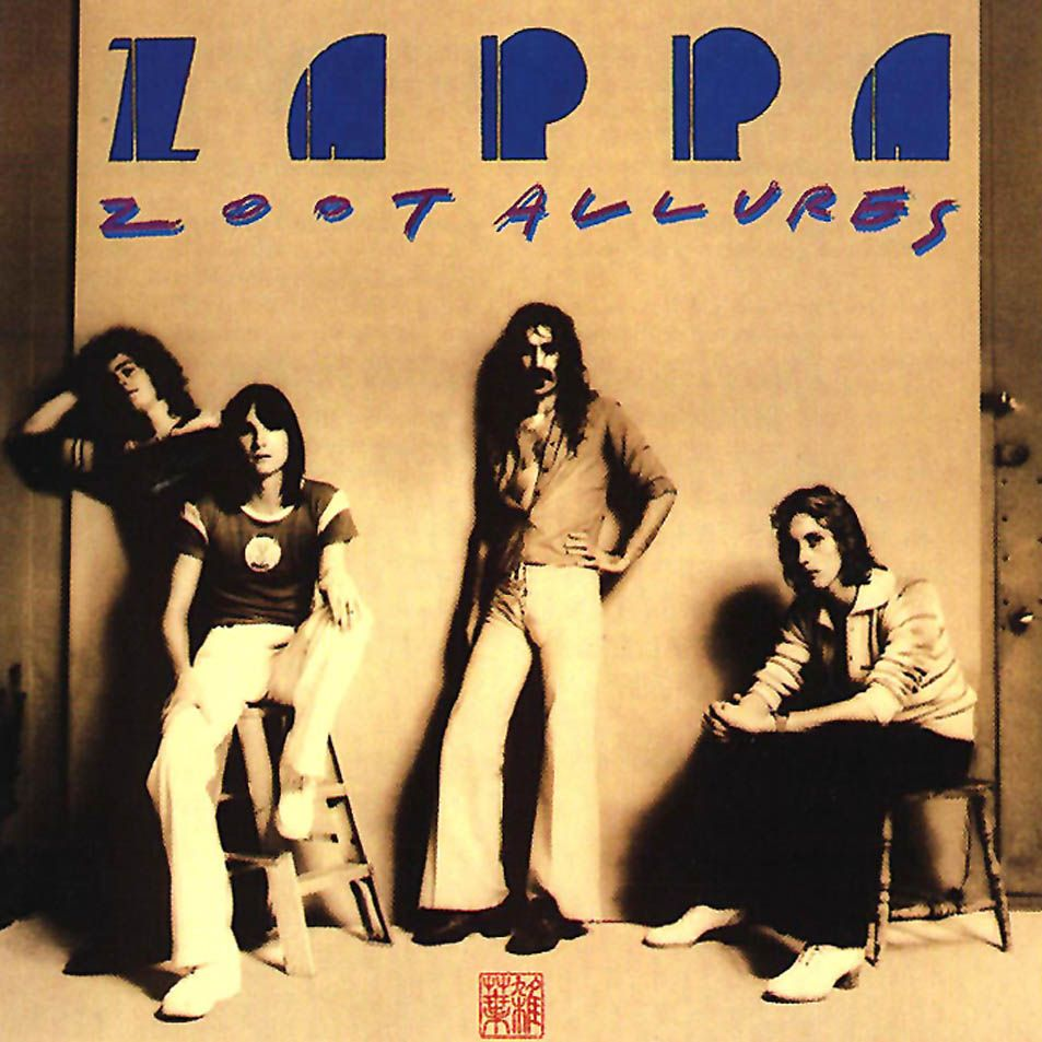 17 Zoot Allures 1976 Frank Zappa Official Album
