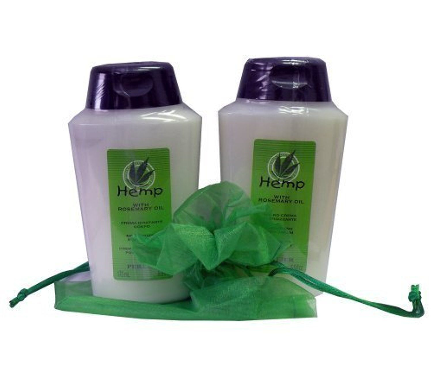 Perlier Hemp with Rosemary Oil Body Cream Bath Cream Set by Perlier -- Awesome products selected by Anna Churchill
