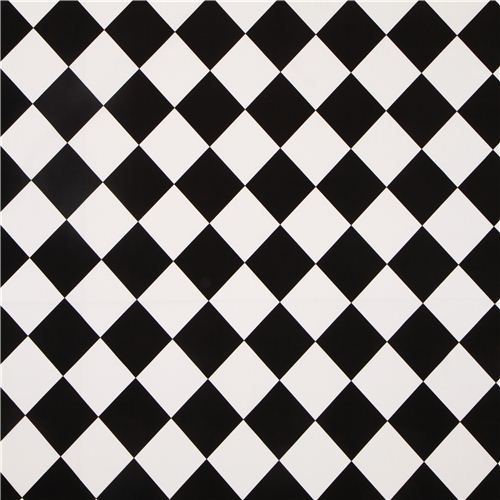 Black White Checkered Michael Miller Fabric From The Usa Black