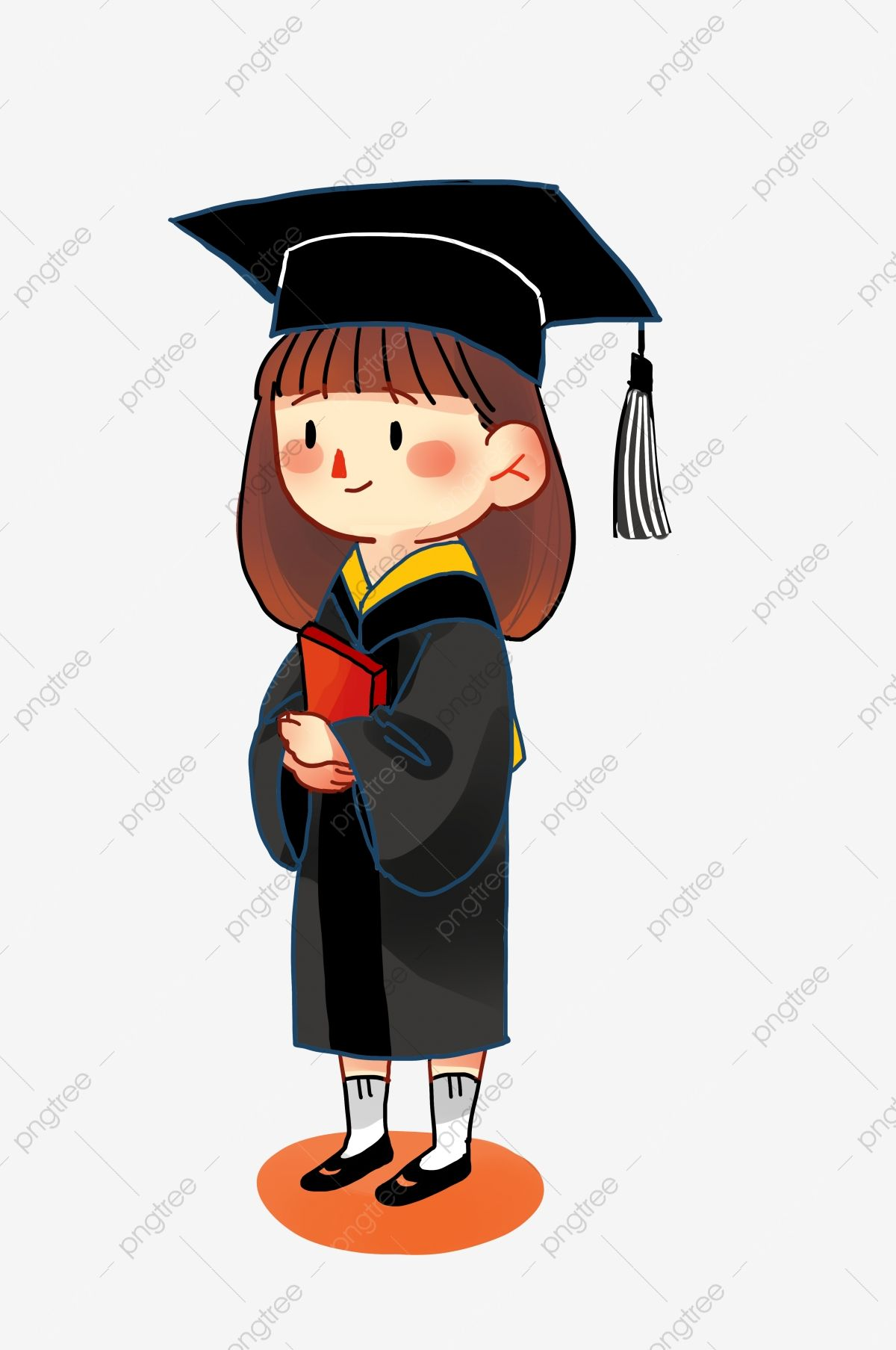 Teenage College Graduation Season College Student Graduation Season Professional Png Transparent Clipart Image And Psd File For Free Download Graduation Cartoon Graduation Poster Graduation Clip Art