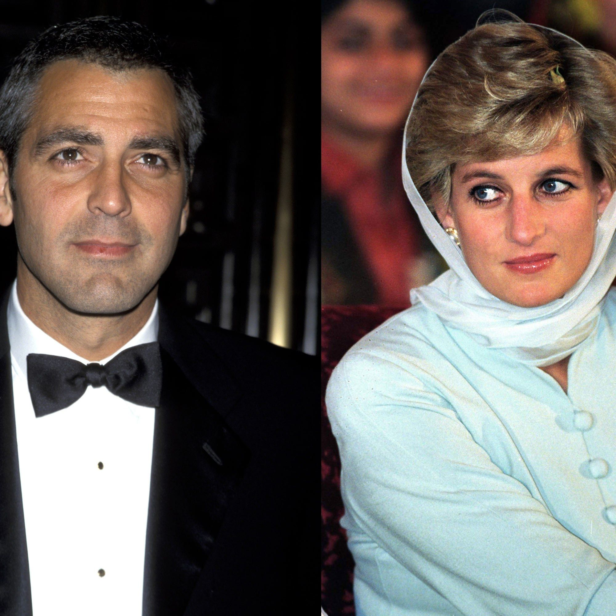 Image result for lady diana and george clooney