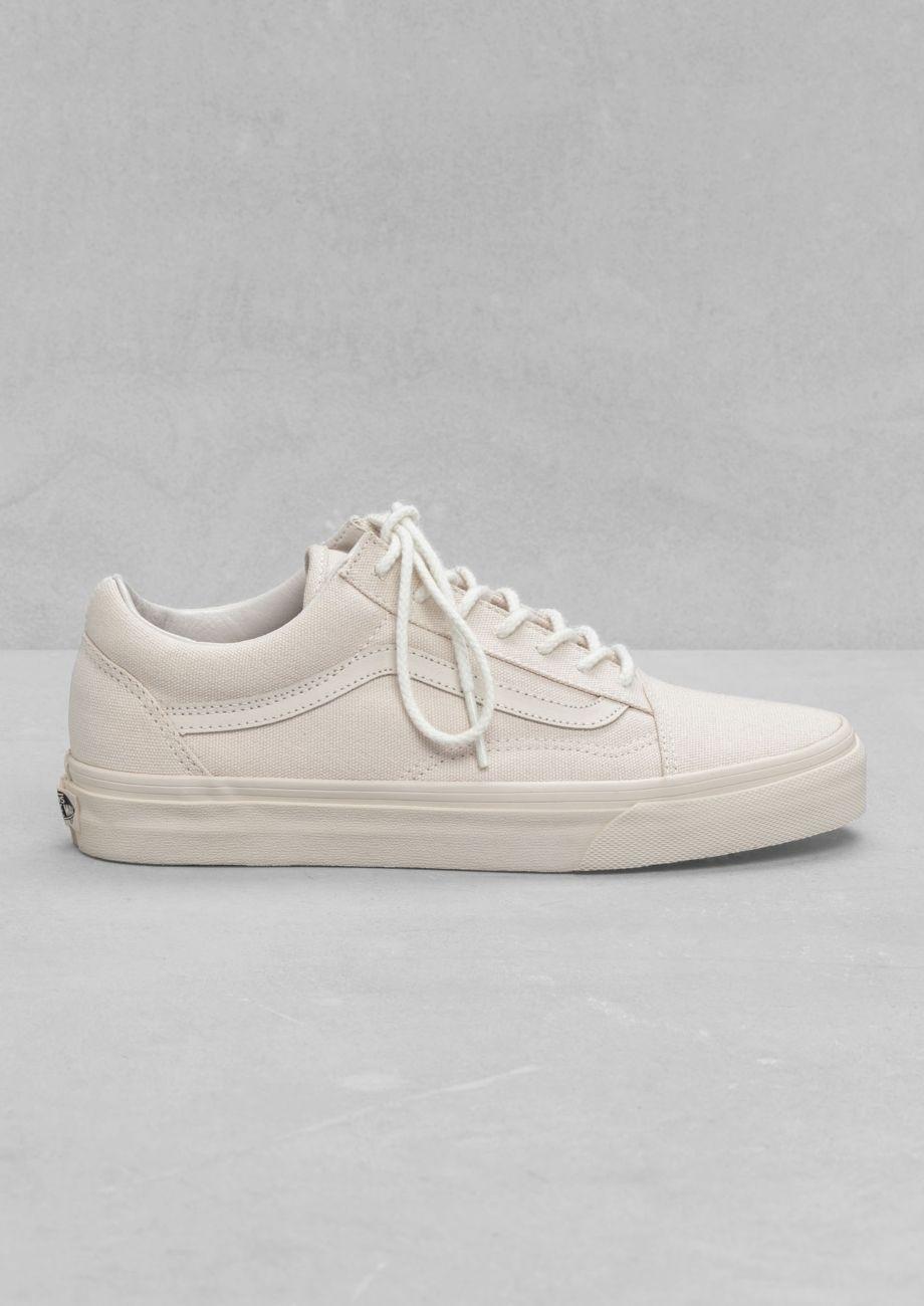 Other Stories Vans Old Skool Reissue Off White Zapatillas Hombre Moda Zapatillas Hombre Zapatos Kawaii