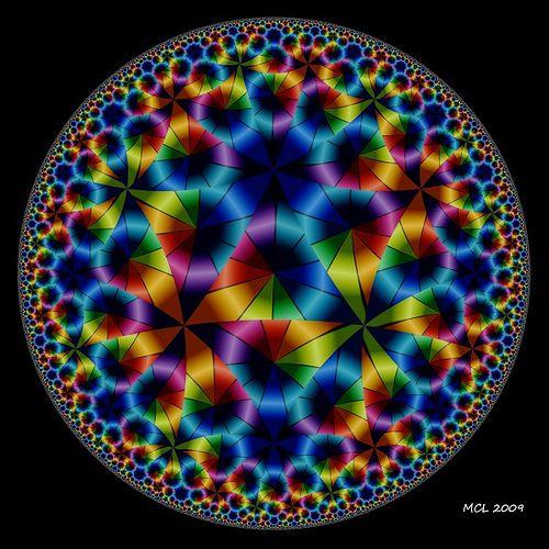 A Dream of Life ~ A Poincaré Hyperbolic Disk Variant