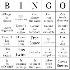 Image Result For People Bingo Free Template French Phrases Human Bingo People Bingo