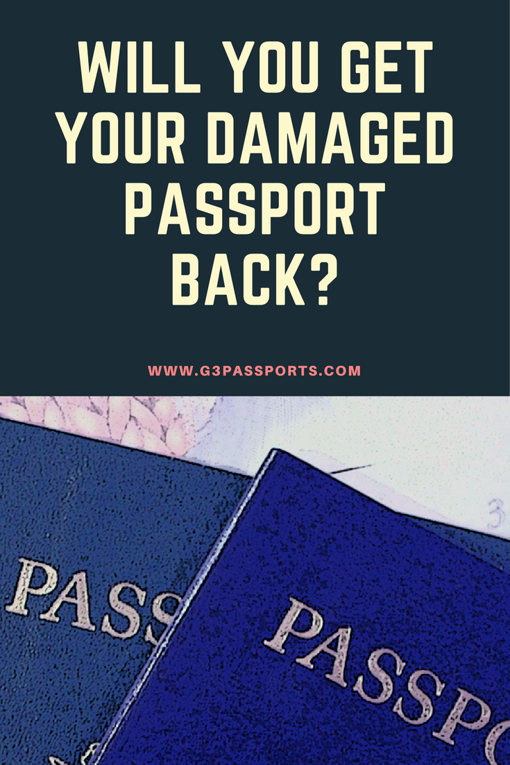You Will Get Your Old Passport Back If You Renew It Or Change Your Name But The Rules Are Different If You Ar Passport Information Passport Changing Your Name