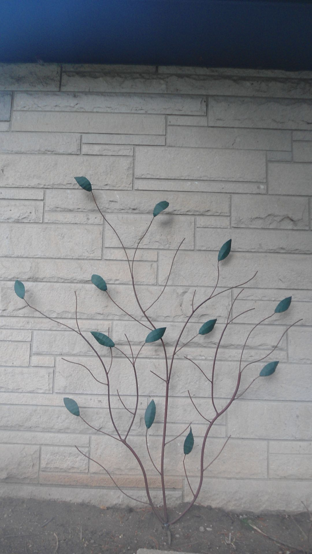 Fan Trellis Metal Tree Wall Art Metal Garden Art Metal Tree