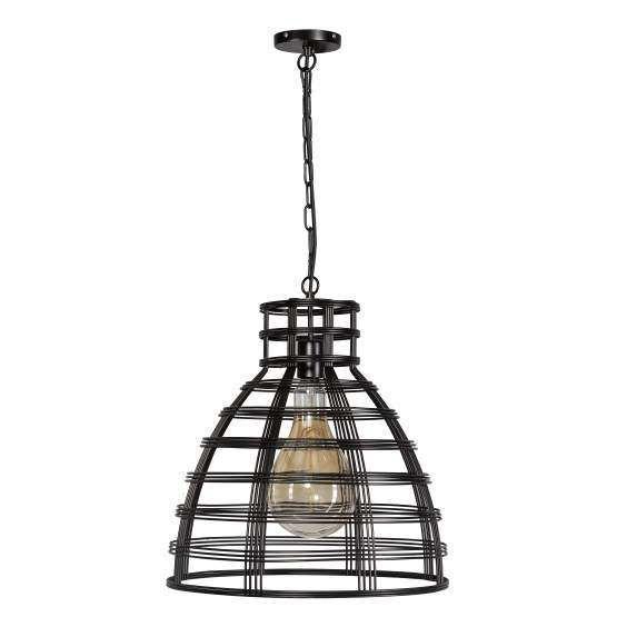 hanglamp bell rock s mat zwart lighthouse collection lampen
