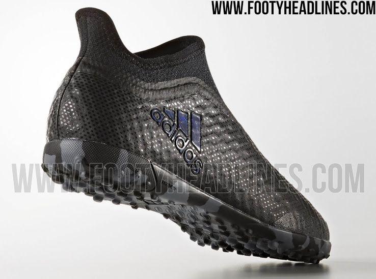 Pepino jugo Ruidoso  Laceless Adidas X Tango 17+ Purespeed Magnetic Storm Pack Boots Released    Futsal shoes, Adidas, Boots