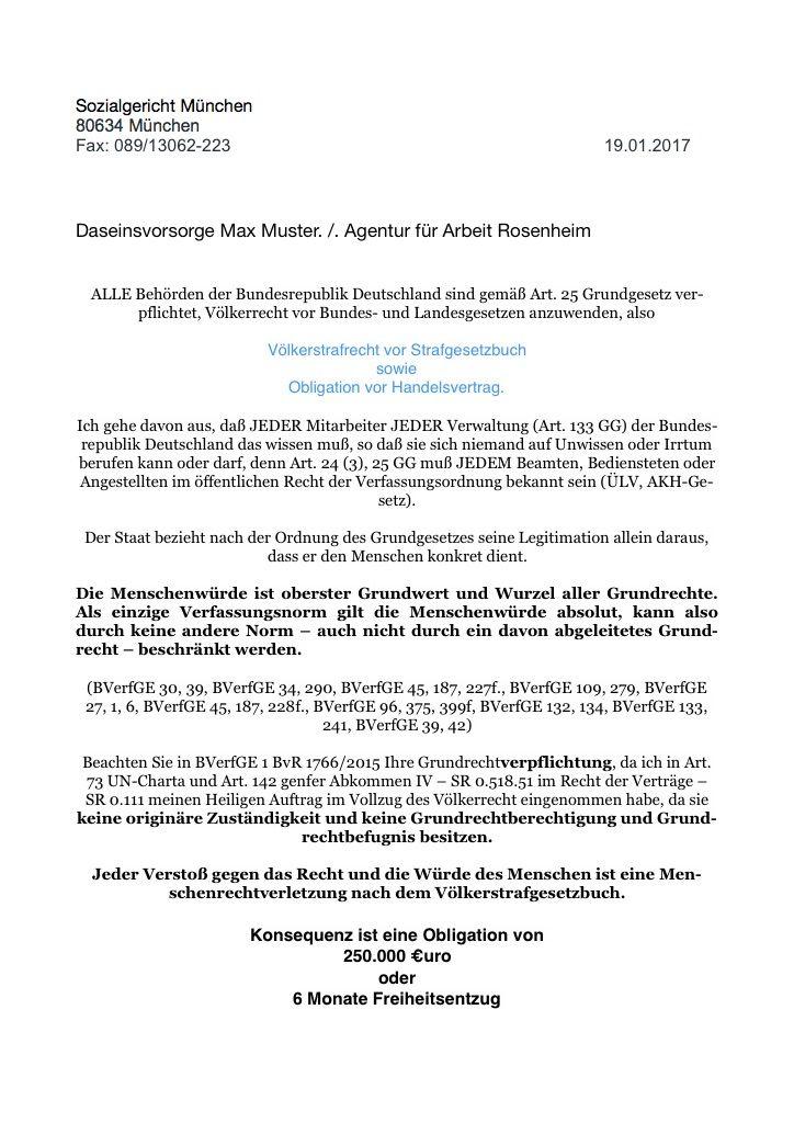 Daseinsvorsorge – FAX Agentur für Arbeit Rosenheim | Rosenheim ...