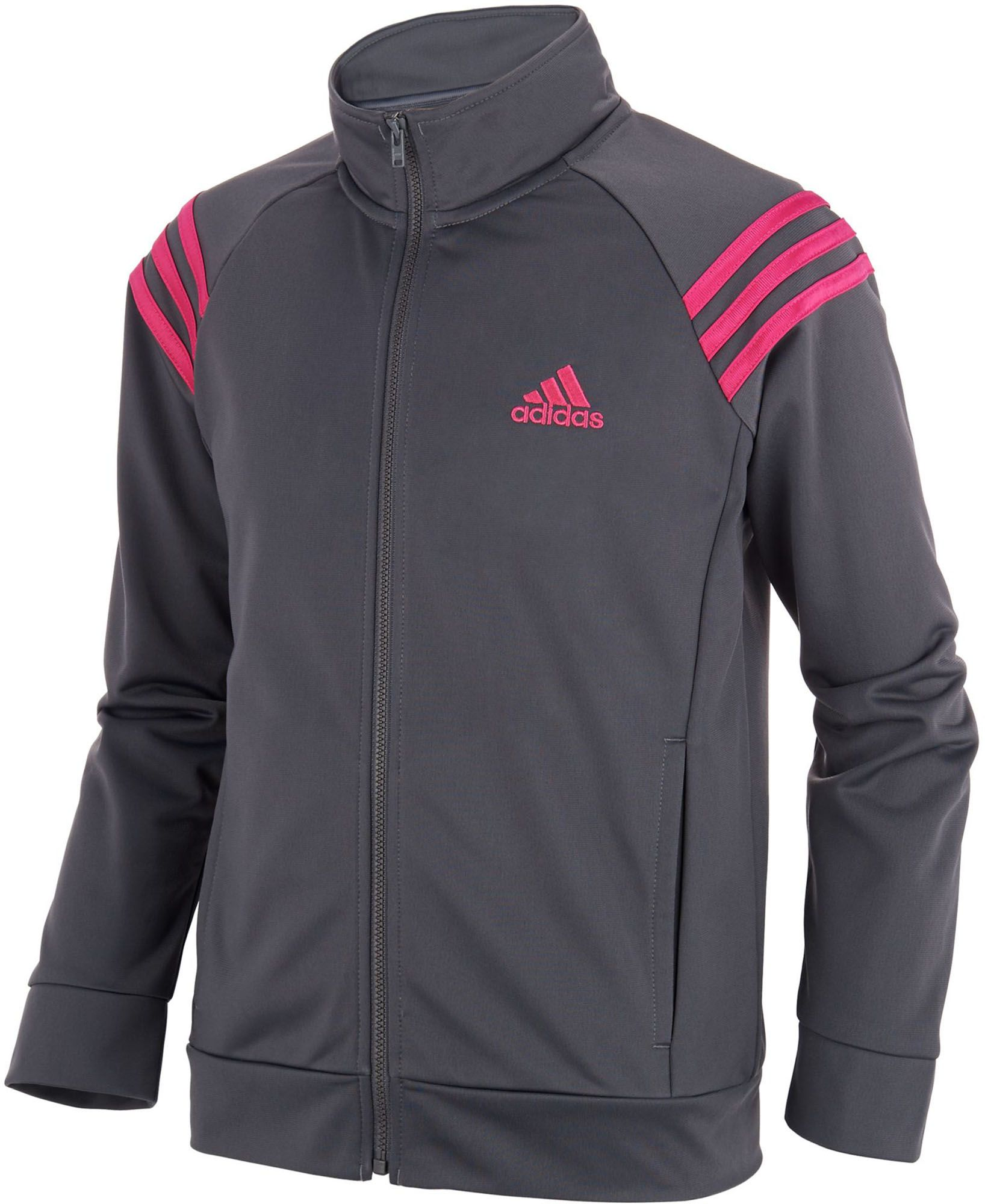 adidas Girls' Event Jacket, Size: Large, Black | Products in