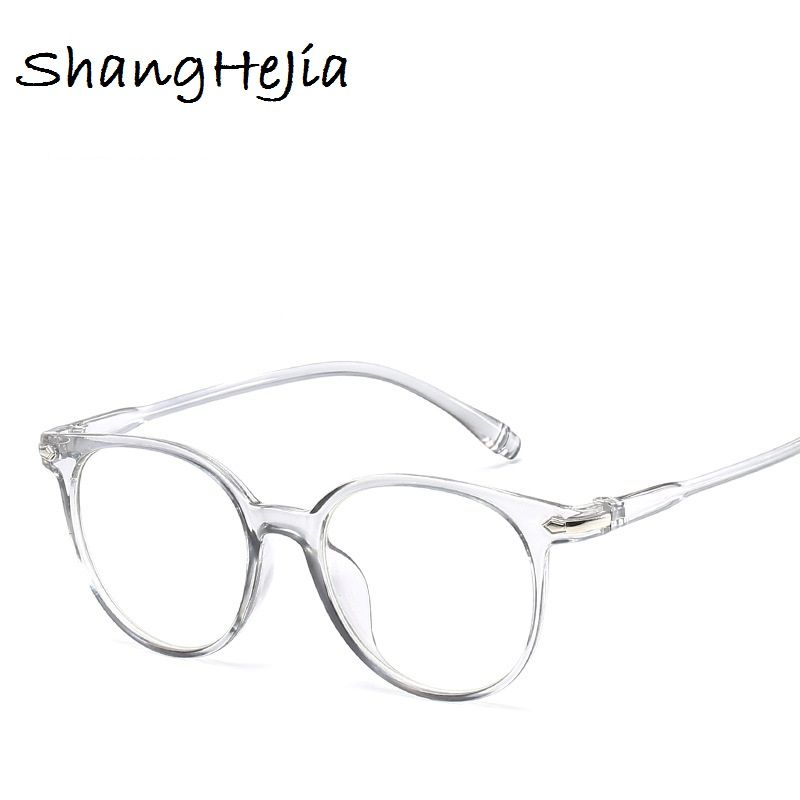 a22aa88380 2018 Fashion Women Glasses Frame Men Eyeglasses Frame Vintage Round Clear  Lens Glasses Optical Spectacle Frame
