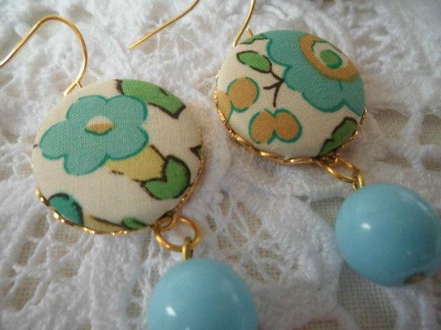 Ohrringe Blumen von Happy Lilly auf DaWanda.com