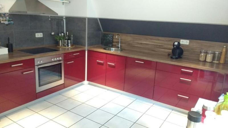 Amerikanischer Kühlschrank Neff : Nobilia küche inkl neff elektrogeräte cerankochfeld ofen ober