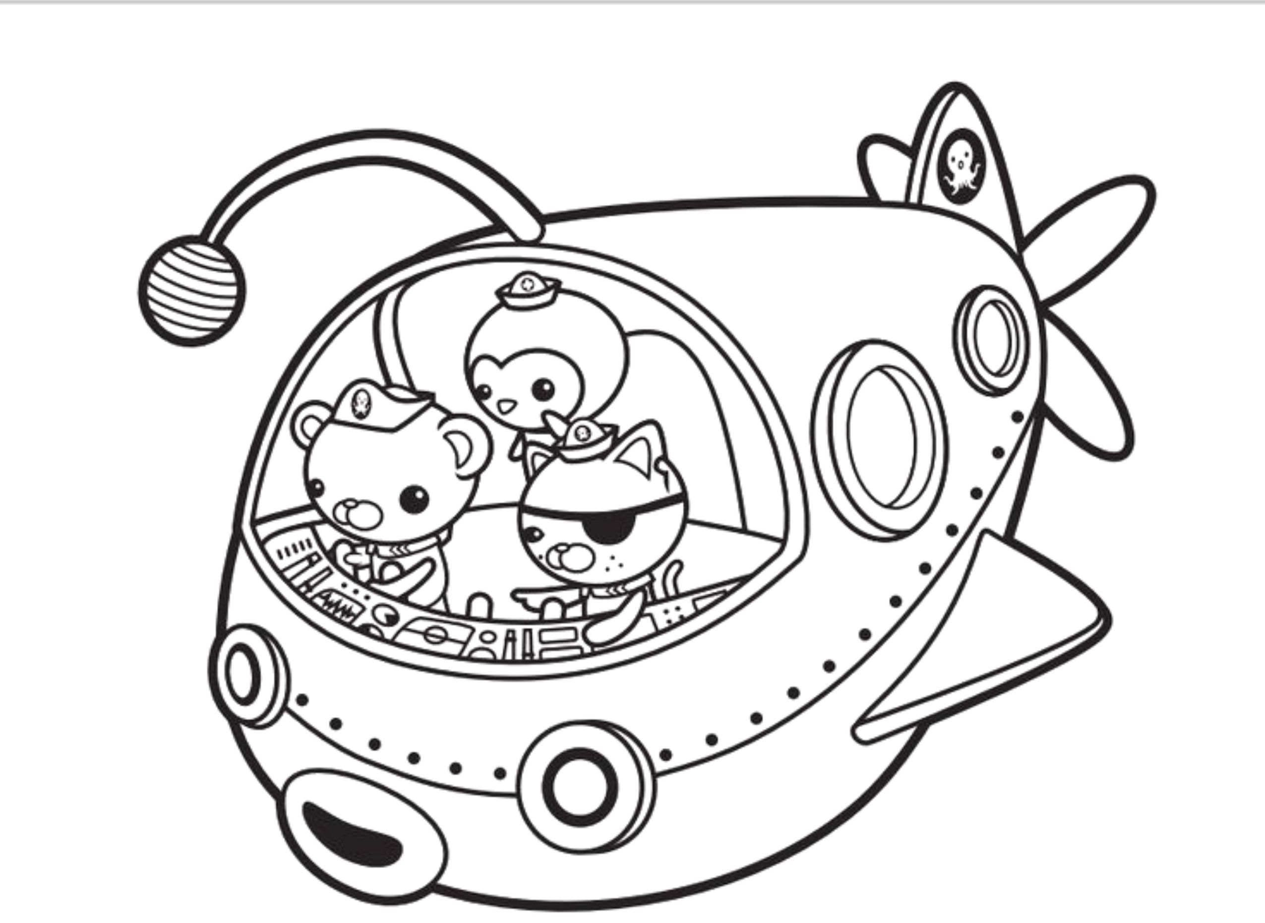 Octonauts Coloring Pages With Octonauts Coloring Pages Super Coloring Pages Coloring Pages Online Coloring Pages