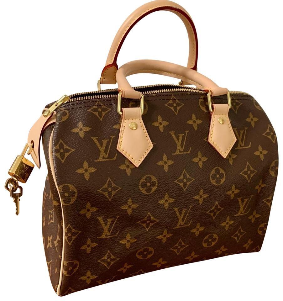 Louis Vuitton | Speedy 25 Brown Canvas Weekend/tra