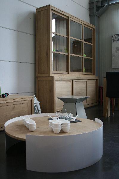 Meubles Mobilier De Salon Meuble Chene Table De Salon