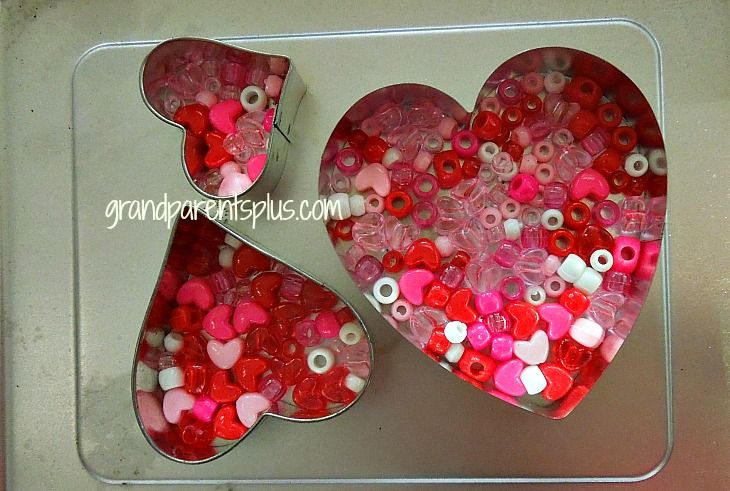 melted bead valentine sun catcher suncatchers catcher and beads