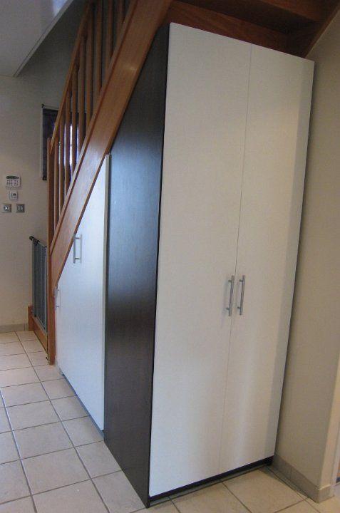 Penderie Sous Escalier Recherche Google Meuble Sous Escalier Amenagement Sous Escalier Sous Escalier