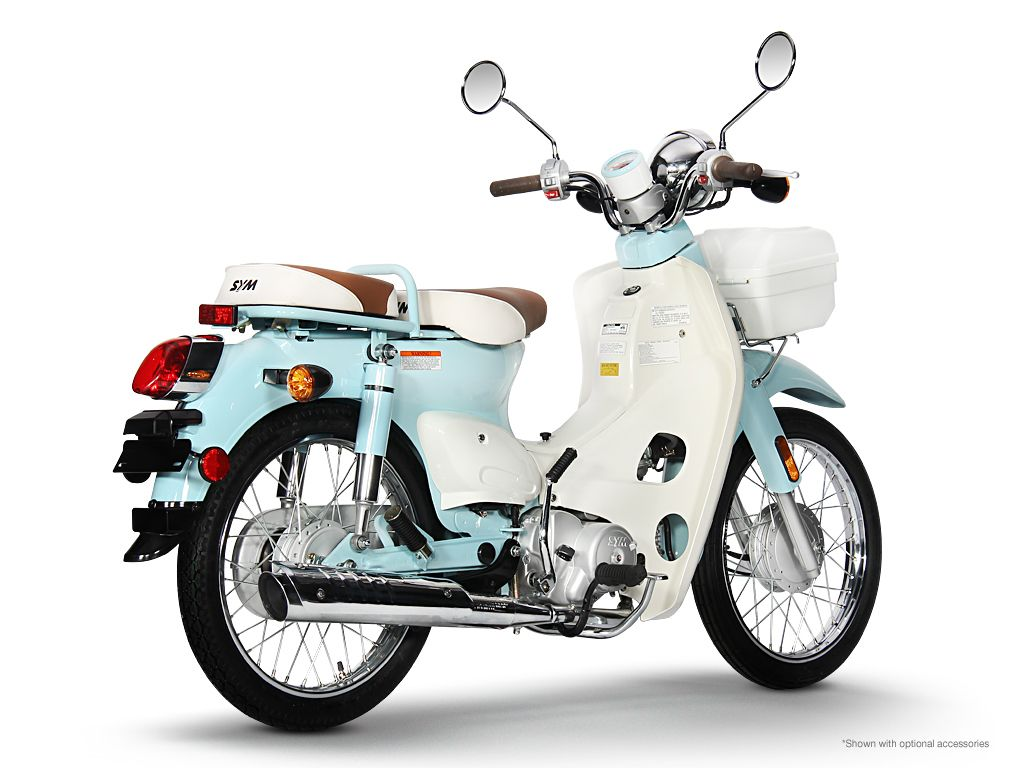 SYM Symba 100 - Blue | SYM Symba 100 | Pinterest | Vespa and Scooters