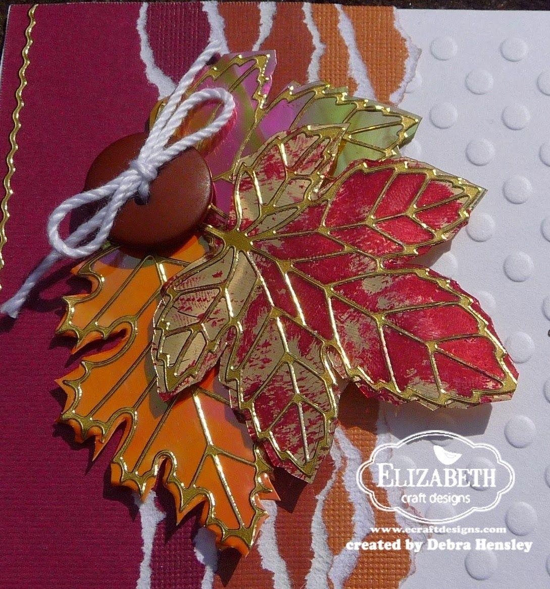 Minuet's Muse: Elizabeth Craft Designs- September Design Team Challenge -Fall, Harvest. Halloween
