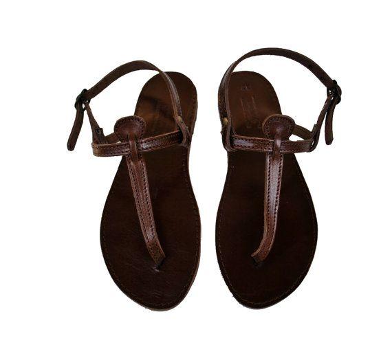 21b5ca393f91 Dark brown women leather sandals nikolasandals on etsy shoes jpg 570x518 Dark  brown womens sandals