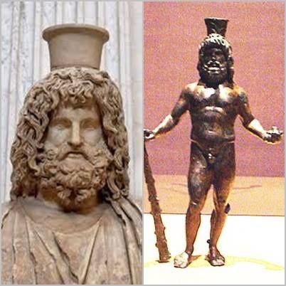 Serapis) foi uma divindade sincrética helenístico-egípcia da Antiguidade Clássica. Seu templo mais célebre localizava-se em Alexandria, no Egito. Seu símbolo era uma cruz.