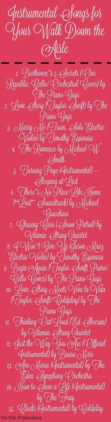 58 Trendy Wedding Songs To Walk Down Aisle Piano Bridal