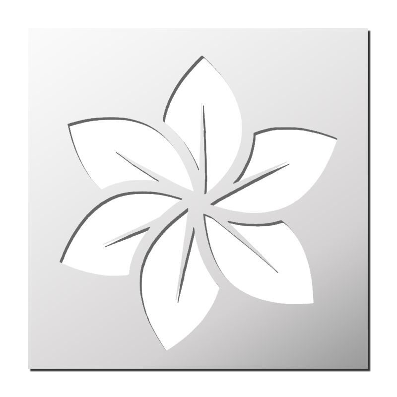 Pochoir fleur boutique pochoirs stickers pinterest pochoir pochoir fleur et pochoir - Pochoir gratuit a imprimer ...