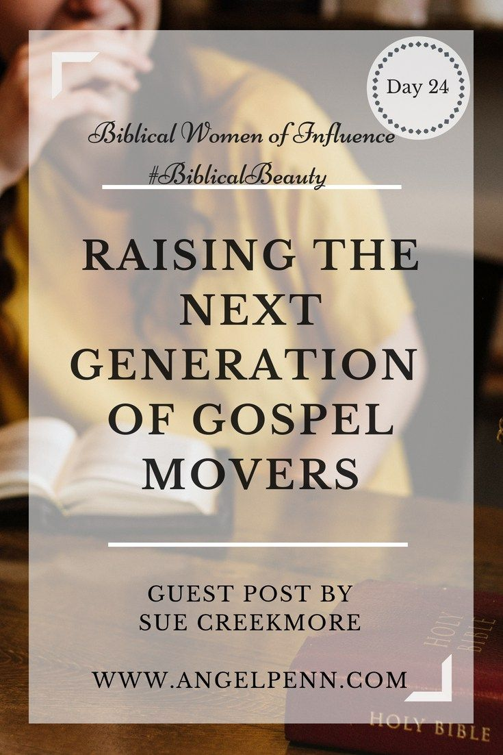 Raising The Next Generation Of Gospel Movers