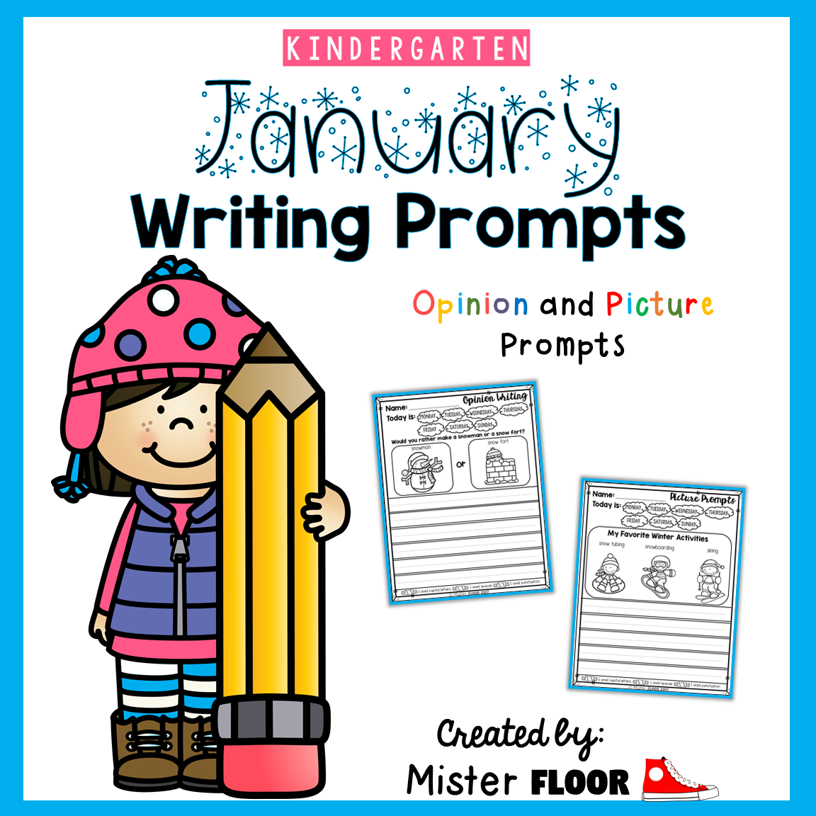 Kindergarten Writing Prompts Opinion Writing Amp Picture