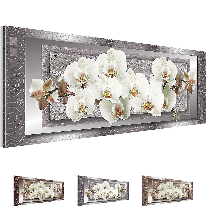 Bild Bilder Sensationspreis 110 X 40 Cm Wandbild Auf Vlies Leinwand Xxl Kunstdrucke Orchidee Wandbild Kunstdrucke 100 M Wandbilder Leinwand Bilder