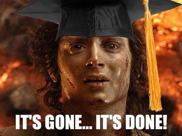 50 Thoughts Of A College Senior Graduation Meme High School Memes College Senior