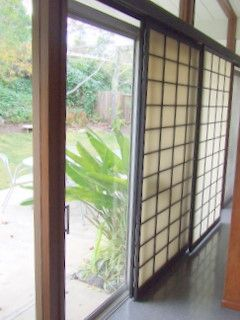 how to build a sliding shoji screen