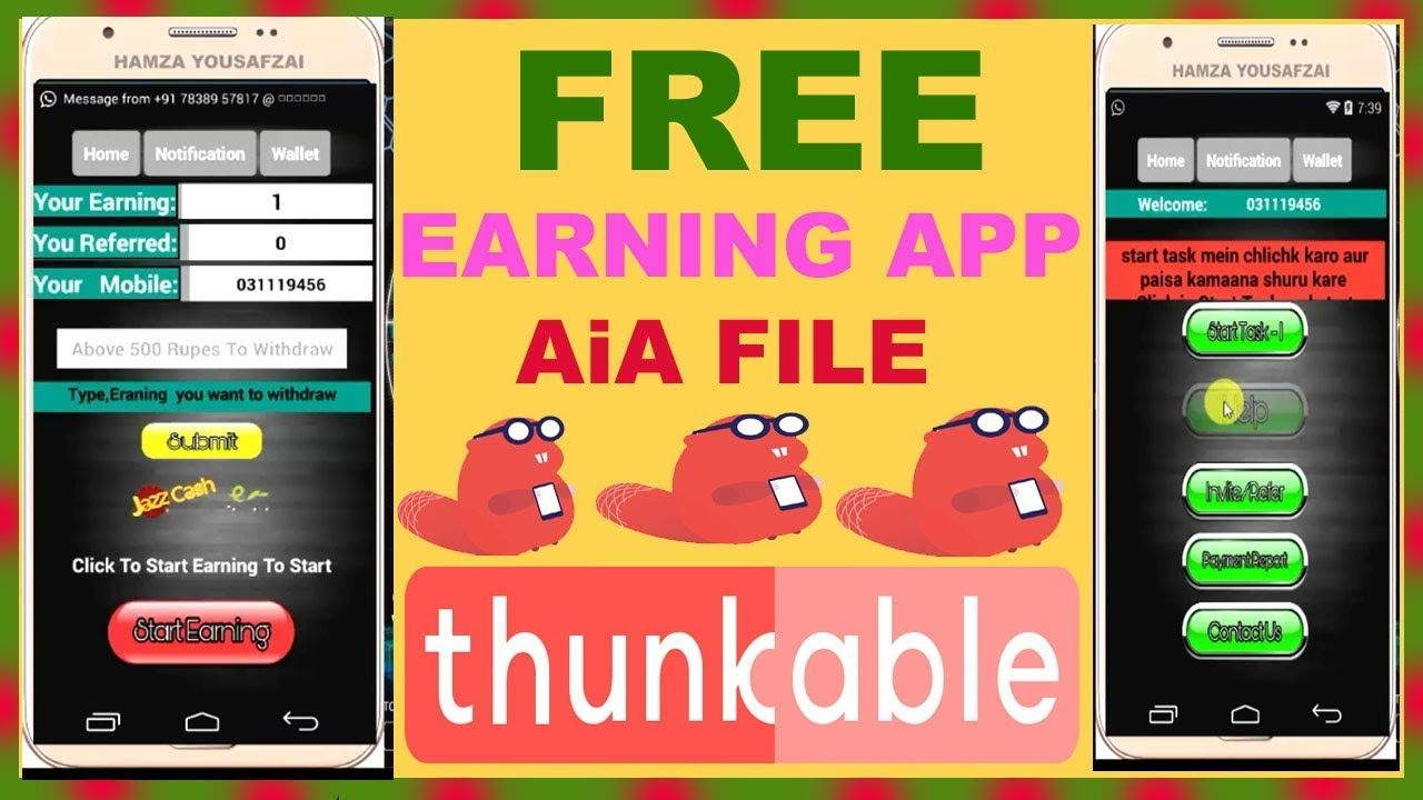 free aia file thunkable earning app download free AIA