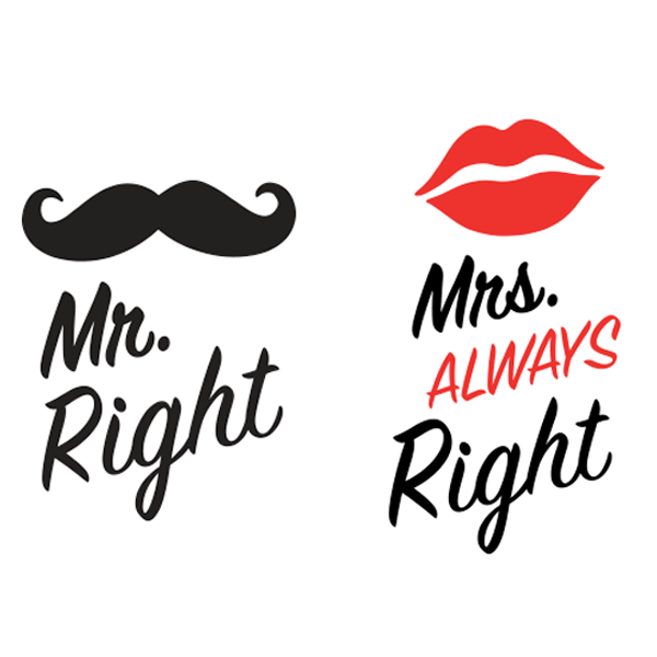 Mr Right Mrs Always Right Kvadrat Skodelice 600x600 Png 600 600 Word Drawings Lettering Cute Couple Wallpaper
