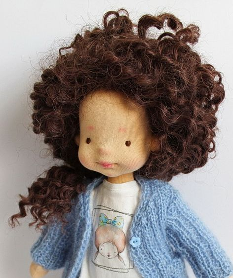 Waldorf Doll, MIMI, OOAK, Waldorf inspired doll, 16'' tall